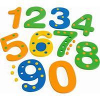 Numerais Com Pinos De 0 A 9 Em E.V.A. - Jottplay - Tricae