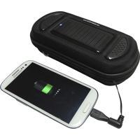 Carregador De Celular Solar Com Alto Falantes Speaker - Guepardo