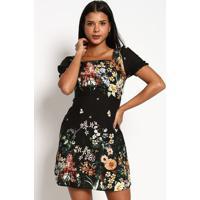 Vestido Estampa Floral- Pretovip Reserva