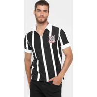 Camiseta Retrô Corinthians Réplica 1954 Masculina - Masculino