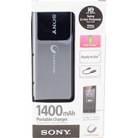 Carregador Portátil Usb Sony 1400 Preto