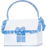 Farmácia Batistela Baby Brilhante Branco E Azul Motorista