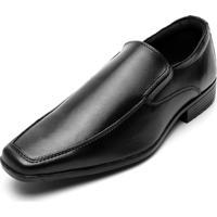 Sapato Social Colombo Liso Preto