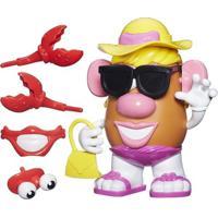 Figura Mashups Playskool - Mrs. Potato Head - Batatinha De Praia - Hasbro - Unissex-Incolor