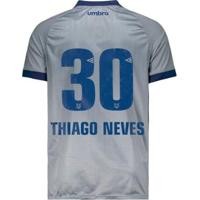 06fbc2a0d5 Netshoes  Camisa Umbro Cruzeiro Nº30 Thiago Neves Iii 2018 Masculina -  Masculino