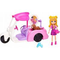 Polly Pocket Veículo Banho De Cachorrinhos - Mattel - Kanui