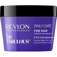 Revlon Professional Be Fabulous Lightweight - Máscara Para Cabelos Finos 200Ml - Unissex-Incolor