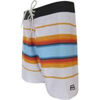 "Bermuda Boardshort Billabong Cali ""18"" - Masculino-Branco"