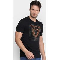 Camiseta Cavalera High Tech Eagle Masculina - Masculino