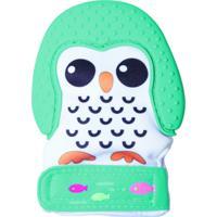 Luva Mordedor Pinguim Verde Girotondo Baby