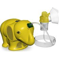 Inalador / Nebulizador Ns Inalafante Bivolt Amarelo Com Protetor Térm