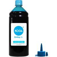 Tinta Para Epson Bulk Ink L1800 Sublimática Cyan Light 1 Litro Koga