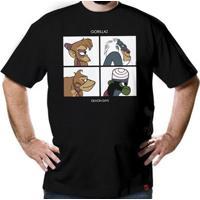 Camiseta Gorillaz