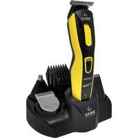 Máquina De Corte E Barbeador 9 Em 1 Sem Fio Gama Italy Gcx623 Bivolt