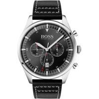 Relógio Hugo Boss Masculino Couro Preto - 1513708
