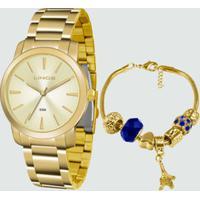 Kit Relógio Feminino Lince Lrg4506L Ku51C1Kx