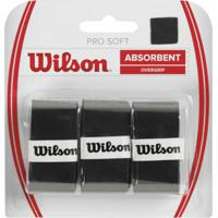 Overgrip Wilson Pro Soft Preto - Kanui