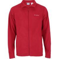 Jaqueta De Frio Fleece Columbia Western Ridge - Masculina - Vermelho