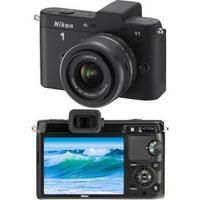 "Câmera Digital Nikon1 V1 C/ 10.1Mp, Lente 10-30Mm Vr, Lente 10 Mm Vr, Visor Lcd 3.0"", Vídeo Em Full Hd (1080P), Detector De Face E Pictbridge"