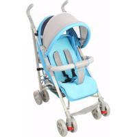 Carrinho De Bebê New Single Dardara Azul