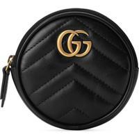 Gucci Porta-Moedas Gg Marmont - Preto