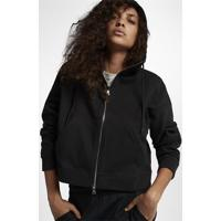 Jaqueta Nikelab Essentials Fleece Feminina