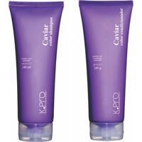 Kit Shampoo E Condicionador K.Pro Caviar Color 240Ml