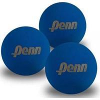 Kit 3 X Bola De Frescobol Penn - Unissex-Azul