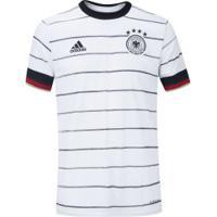 Camisa Alemanha I 2020 Adidas - Masculina - Branco/Preto
