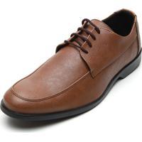 Sapato Social Colombo Liso Caramelo