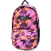 Mochila Puma Academy Backpack - Unissex-Coral