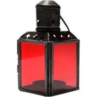Lanterna Indiana Vermelha 11Cm