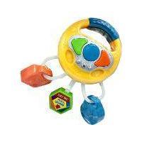 Volante Com Chave Infantil Brinquedo Musical Com Luzes E Som