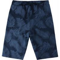 Bermuda Azul Marinho Comfort Tropical