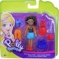 Polly Pocket Viagem De Modas Nyc - Mattel - Kanui