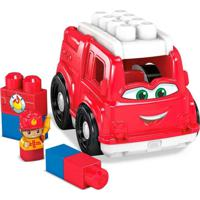 Mega Bloks Caminhão De Bombeiro Freddy - Mattel