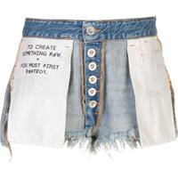 Unravel Project Saia Jeans Destroyed - Azul