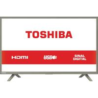 "Tv Led 32"", 3 Hdmi, 1 Usb, 2 Antena Rf Toshiba Bivolt 32L1800"