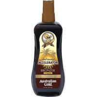 Australian Gold Acelerador De Bronzeamento Instant Bronzer Spray Gel 237Ml - Feminino-Incolor