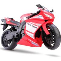 Moto Rodas Livres - Roma Racing Motorcycle - Vermelha - Roma Jensen