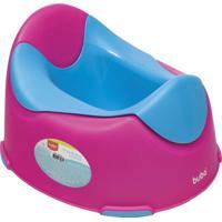 Troninho Infantil Rosa E Azul Buba Multicolorido