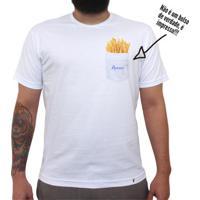 Batatas Apenas - Camiseta Clássica Masculina
