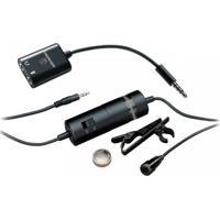 Microfone De Lapela Audio-Technica Atr3350Is Preto