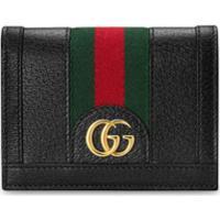 Gucci Porta-Cartões Ophidia Gg - Preto