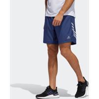 Short Adidas Run It 3S Azul