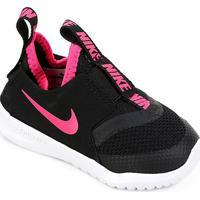 Tênis Infantil Nike Flex Runner Td - Unissex-Preto+Pink