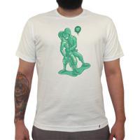 Beyjo - Camiseta Clássica Masculina