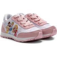 Tênis Jogging Infantil Disney Princesas Feminino - Feminino