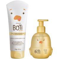Combo Boti Baby Banho: Sabonete Líquido Corpo E Cabelo + Loção Hidratante De Banho E Pós Banho