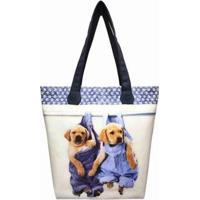 Bolsa Pet Feminina Cachorrinhos Jeans Magicc - Feminino